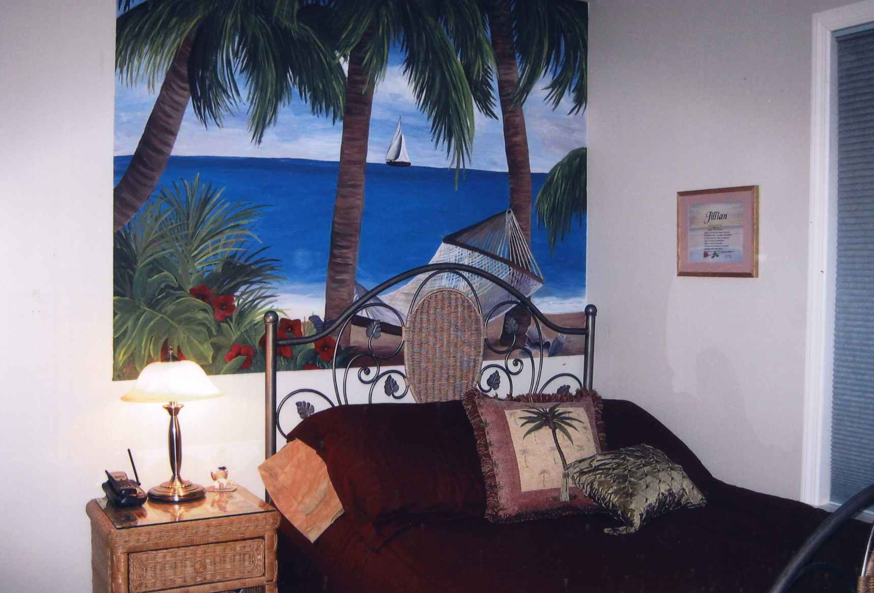 Tropical Bedroom